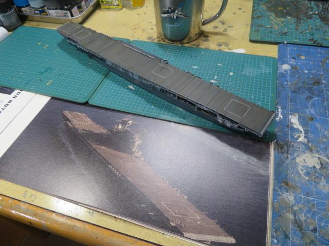 タミヤ 1/700 エンタープライズ 1942 の2