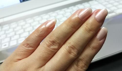 爪塗ってみた