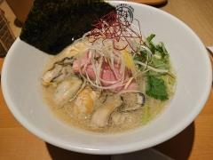 むぎくらべ【八】 ~寿製麺 よしかわ【四】「牡蠣の味噌らーめん」~-4