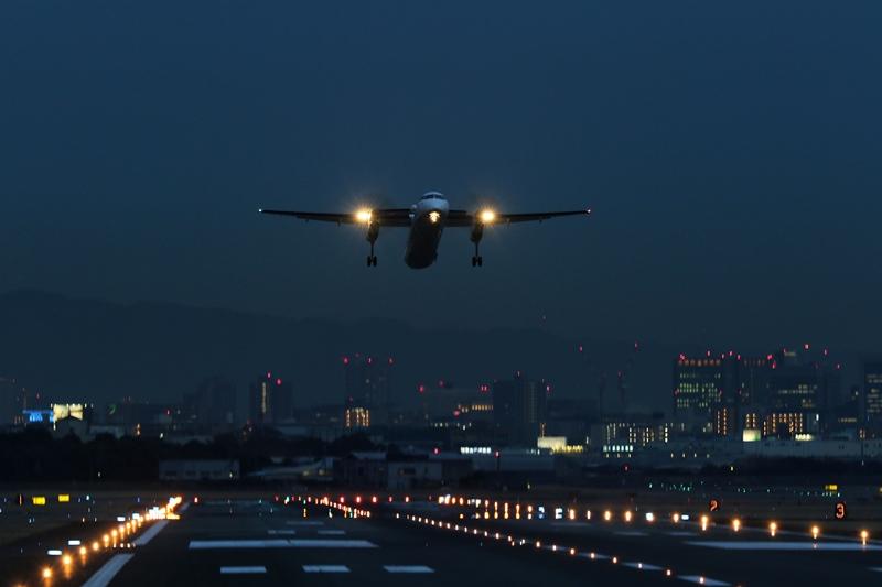 空港夜景4