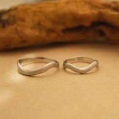 k10ホワイトゴールド 結婚指輪