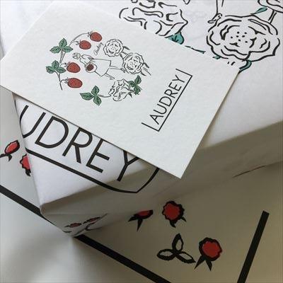 オードリー いちごのお菓子 audry