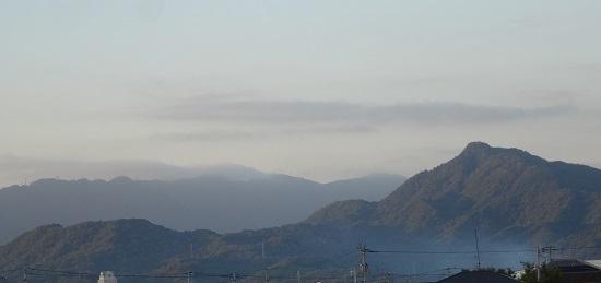 虎丸山を望む過去