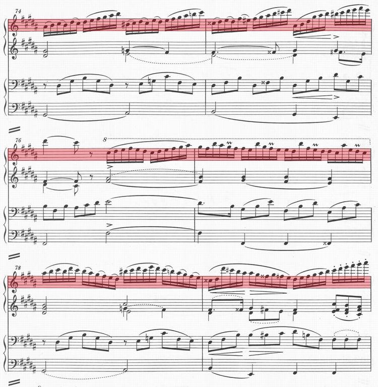 D823第2楽章第4変奏