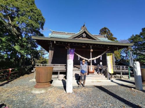 真弓神社の本殿