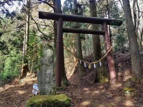 黒前神社の鳥居