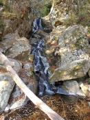 七つ滝の滝つぼ