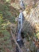 七つ滝中間の滝つぼ