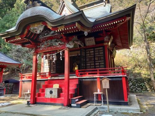 花園神社の「拝殿」