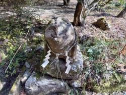 江戸時代に奉納されたといわれる「狛犬」