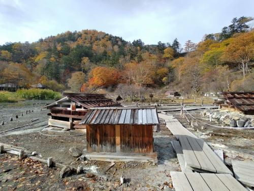 湯元温泉の源泉