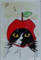 ラッセル君リンゴちゃん