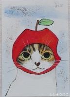 よもぎさんリンゴちゃん