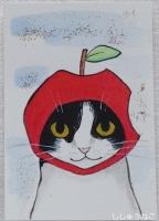 カイ君リンゴちゃん