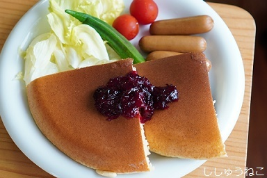 ローゼルとパンケーキ