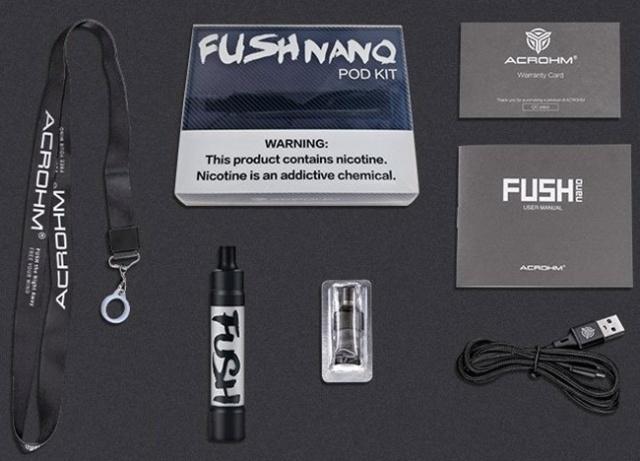 3 Acrohm Fush Nano Mesh Pod Kit