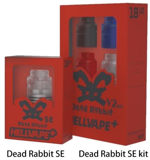 5 Hellvape Dead Rabbit SE BF RDA