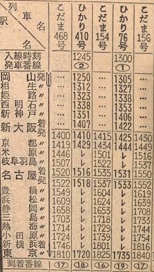 1974時刻表