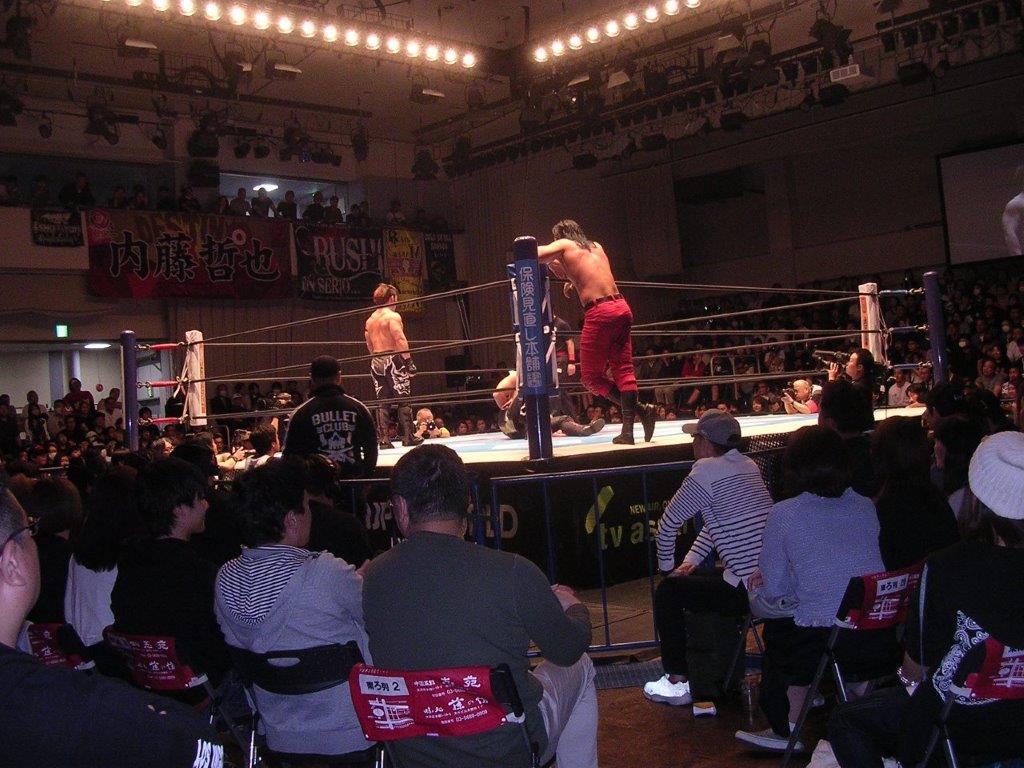 新日本プロレス19年4月22日後楽園ホール1