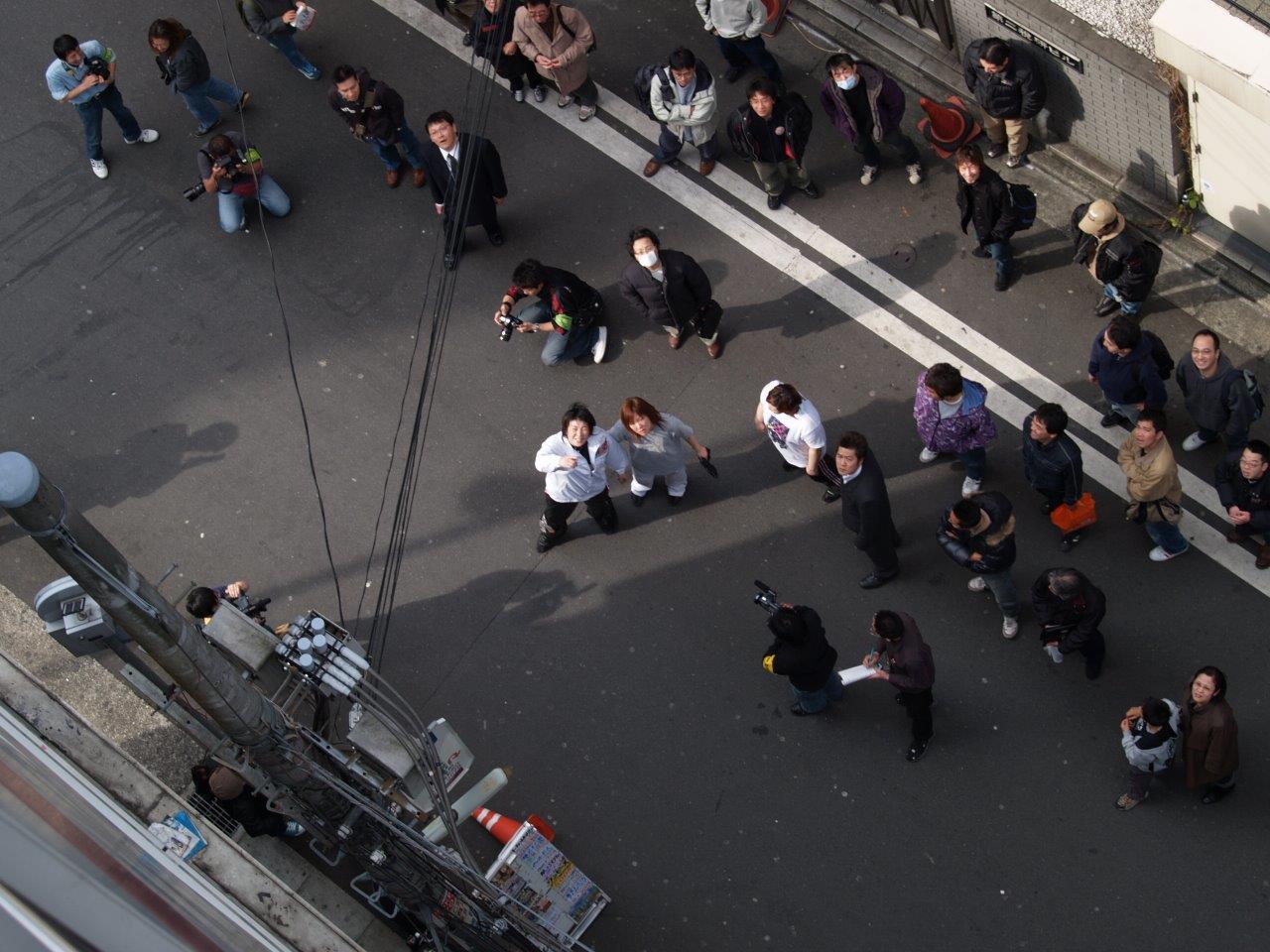 2006年3月19日ONLY ONE 二見堀田乱闘1