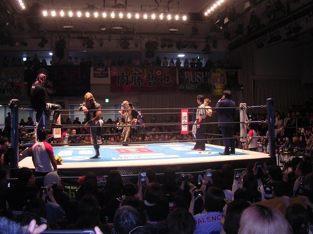 新日本プロレス19年4月23日後楽園ホール2
