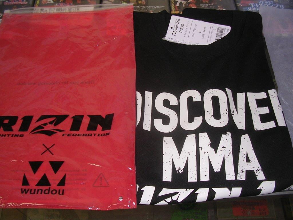 RIZINTシャツ2