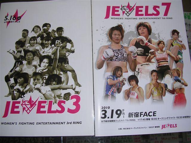 女子総合格闘技ジュエルス3、7th パンフレット