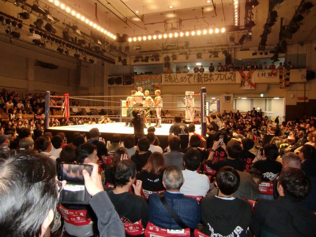 新日本プロレス19年10月17日4