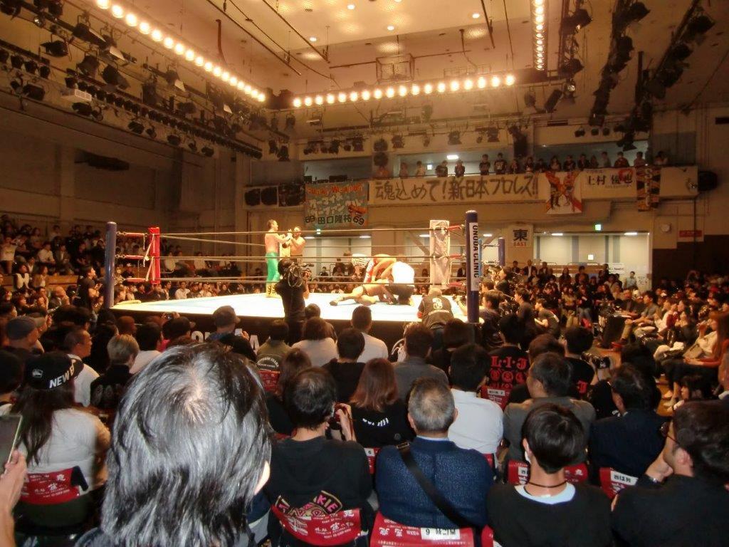 新日本プロレス19年10月17日2
