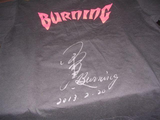 小橋建太 BURNING GRAND SWORD Tシャツ