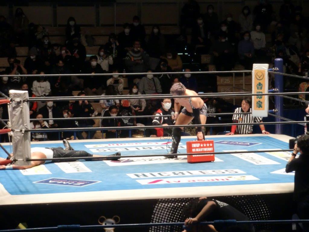 新日本プロレス2020年12月22日4