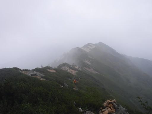 200807大天井岳常念岳蝶ヶ岳縦走 (5)
