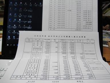 令和元年度歳入歳出決算書