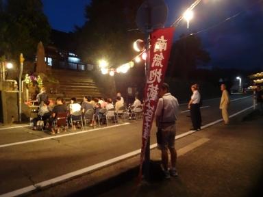 昨年の地蔵尊祭り