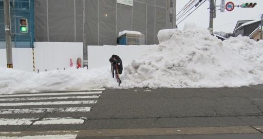 横断歩道の安全確保