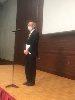 澤野会長の挨拶