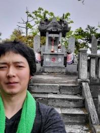 2020年度三峯神社にて奥の院