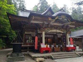 2020年寶登山神社にて