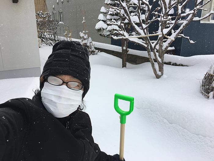 雪かき2021
