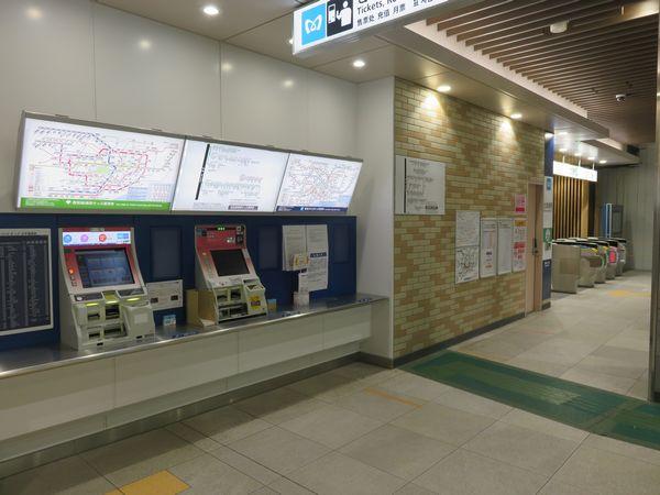 11月に新築ビル内に移転した中央改札