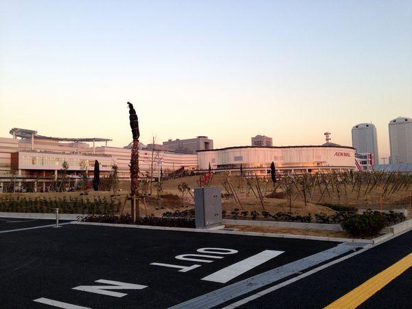 2013年にオープンしたイオンモール幕張新都心