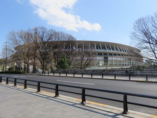 昨年11月に完成した新新国立競技場
