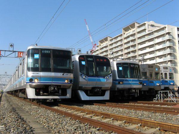 東京メトロ東西線車両