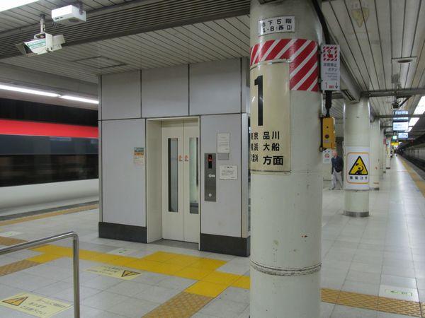 2010年に新設されたエレベーター。