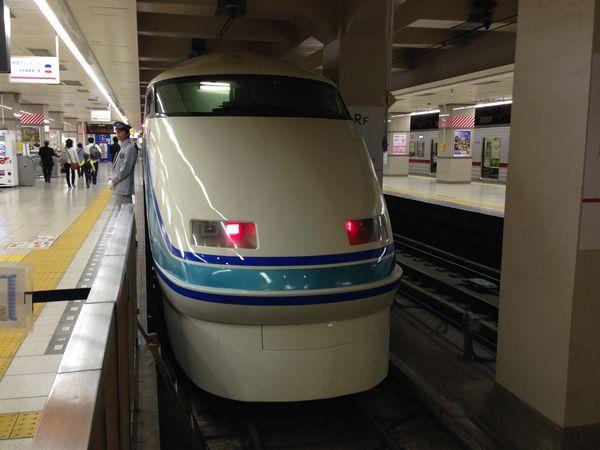 東武鉄道の看板車両100系特急「スペーシア」。
