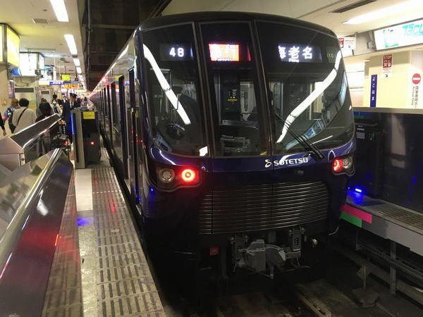 相鉄・東急新横浜線で運用予定の相鉄20000系電車