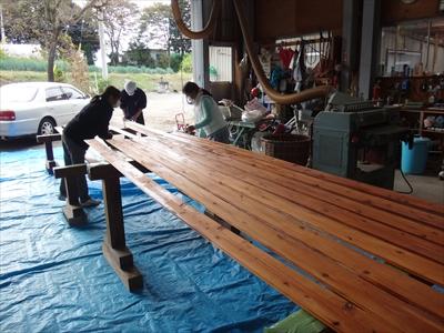 8-1-2木部塗装