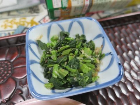「貝地の高菜とお稲荷さん」①