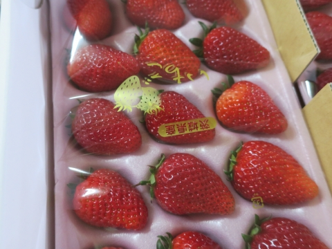 「美味しい苺が届きました!」③