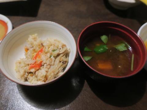 「カニ釜飯」⑤